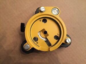 Optical Tribrach Survey Surveying Nice Condition With Optical Plumet Gold