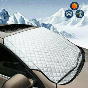 Magnetic Car Windshield Snow Cover Winter Ice Frost Guard Sunshade Protector Hot
