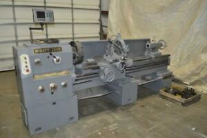 21 X 80 Mighty Turn Gap Bed Engine Lathe 9 1600 Rpm 3 25 Hole Through Spindle