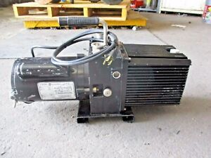 Sargent Welch 8811 Director Vacuum Pump 1725 Rpm 107208j Used