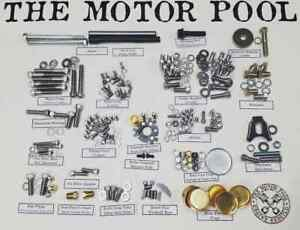 Small Block Chevy Stainless Engine Rebuild Bolt Master Kit Sbc 327 350 383 400