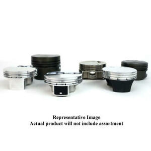 Je Piston Set 207418 4 125 Bore Dish 2v For Ford 428w Sbf 351w Stroker