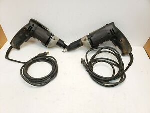 Lot 2 Porter Cable 6645 Ehd Electronic Heavy Duty Drywall Driver Free Shipping