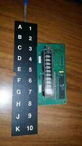 Ap Automatic Products 111 112 113 Snack Led Display Board And Ap Keypad Touchpad