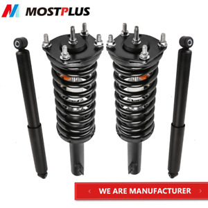 Set 4 Front Rear Struts Shock Absorbers Kit For Jeep Grand Cherokee Commander