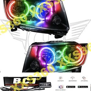 Oracle Halo Headlights N hid For Jeep Grand Cherokee 11 13 Led Colorshift Bc1