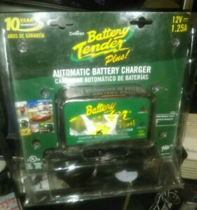 Deltran Battery Tender Plus 12v For Motorcycle Car Truck Maintainer Charger Read