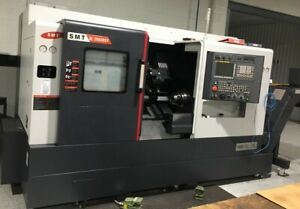 Used 2017 Samsung Sl 2500 Bsy Cnc Live Tool Y Axis Turning Center Lathe Fanuc