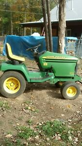 John Deere Tractor 345 Liquid Cooled Hydrostatic And Power Steering