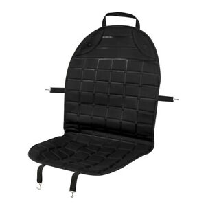 Universal Dc 12v Heated Front Seat Heating Cushion Warmer Pad Black For Car
