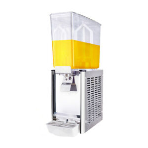 Commercial Cafeteria Beverage Single cylinder Cold Drink Machine Dispenser