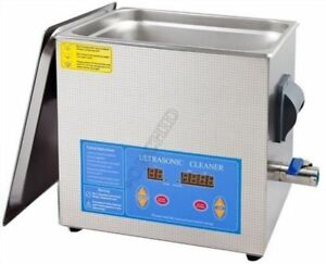 Professional 13l Liter Digital Ultrasonic Cleaner Timer heater W cleaning Bas Cn