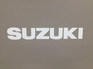 White Suzuki Samurai Tailgate Sticker Decal 87 95 Emblem Door Top