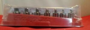 Brand New Snap On 7 Piece Stubby Torx Socket Set 207eftxys