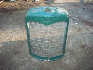 Oliver Hart Parr Cast Iron Grille Shell 60 70 Row Crop Standard Tractor Antique
