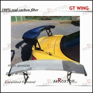 Carbon Fiber Js Racing Type 1 Style Gt Wing Rear Spoiler 1600mm For S2000