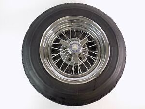 Mercedes Benz Appliance 14 Wire Wheels Rims Set Of 4 With Pirelli Cn36 Tires