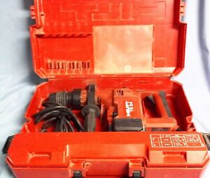 Hilti Te24 Rotary Hammer Drill With Case And 11 Bits