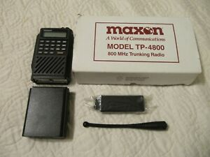 Maxon Tp 4800 Trunking Portable Scanner two Way Radio 800mhz Transceiver