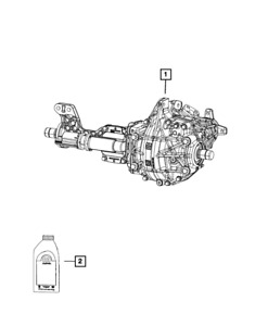 Genuine Mopar Differential Assembly 68349702ad