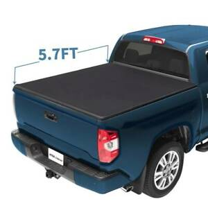 5 7ft Tri Fold Tonneau Bed Cover For Dodge Ram 2019 Waterproof Tear Resistant