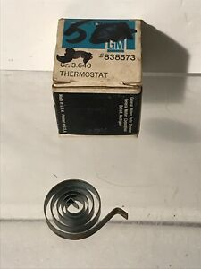 Nos Chevrolet Corvette Exhaust Spring Thermostat 6 Cyl 1953 1954 1955 Pn 838573