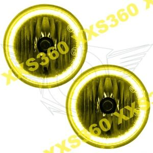 Oracle Halo Foglights Jeep Patriot 11 16 Yellow Led Angel Eyes