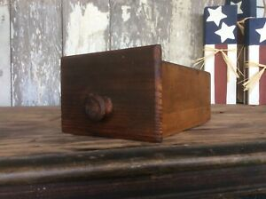 Sewing Wood Drawer Small Sewing Or Spice Drawer Wood Pull