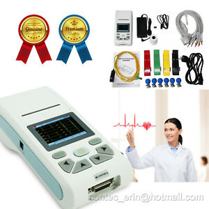 Touch Screen Portable Handheld Ecg90a Electrocardiograph Ecg Machine 10 leads