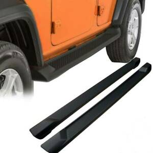 For 2018 Jeep Wrangler Jl 4 Door Oe Style Running Board Side Step Nerf Bar Pair