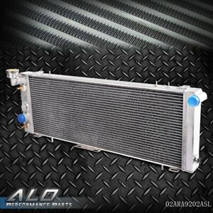 60mm Aluminum Radiator For Jeep Cherokee Comanche Xj 91 01 2 5l 4 0l I4 I6