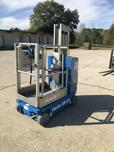 2010 Genie Gr20 Drivable One Man Lift Electric Scissor Lift Boom Jlg Skyjack