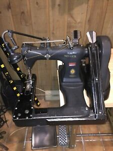 Vintage Singer 231 8 Felling Industrial Sewing Machine