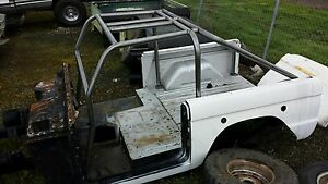 1966 1977 Early Ford Bronco Racer Back Roll Cage 66 77 Style Roll Bar