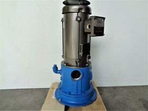 Goulds Water Technology Self priming Pump 20evp 12a2pe With Baldor 2 Hp Motor