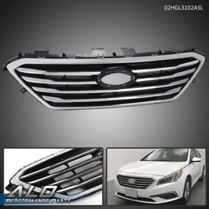 For 2015 2016 Hyundai Sonata Replacement Grill Front Bumper Factory Style Grille