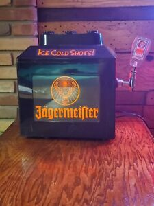 Jagermeister Ice Cold Shots Machine Used Does Power On