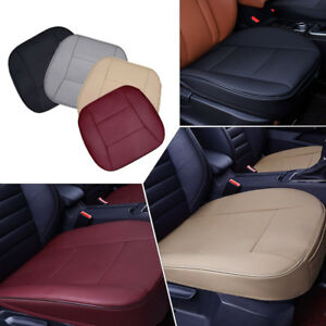 Pu Leather Universal Car Seat Cover Auto Chair Cushion Pad Deluxe 3d Breathable