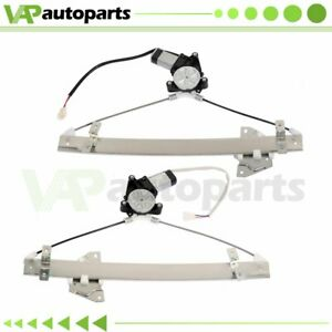 Power Window Regulator For 1999 2003 Mitsubishi Galant Front Left Right W Mo