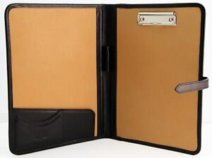 Leather Clipboard Conference A4 Black Meeting Folder Presentation Case