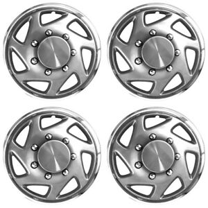 16 Chrome Wheel Cover Hubcaps For 2000 2005 Ford Excursion