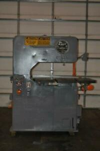 36 Doall Vertical Bandsaw 30 1 2 X 30 Tilting Table Blade Welder 12 Vertical