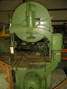 36 Moak Vertical Band Saw 31 X 38 Tilting Table 10 Maximum Vertical 3 4 In