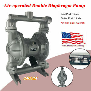 24gpm 115psi Membrane Pump1 inlet outlet Port Air operated Double Diaphragm Pump