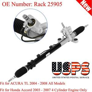 Complete Power Steering Rack Pinion Assembly For Honda Accord 03 07 Rack 25905
