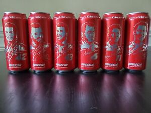 Coca Cola 2019 Drivers Custom Nascar Can Collection Complete Set