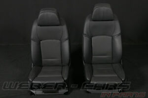 Leather Trim Bmw 7 Series F01 Lci Comfort Seats Front