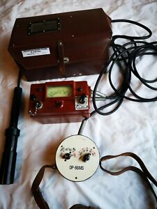 Very Rare Dp66ms Training Geiger Counter In Nice Case Dosimeter