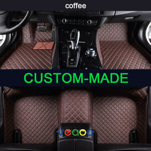 Car Floor Mats For Toyota Land Cruiser Prado 7 Seat 2004 2009 Waterproof Car Mat