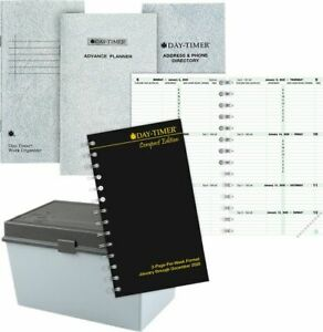2 page per week Original Planner Refill Compact Size